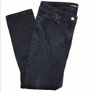 J. McLaughlin Lexi Jean Pants Faded Black Size 8
